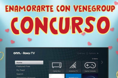 Gánate un Tv de 50 4K con Venegroup